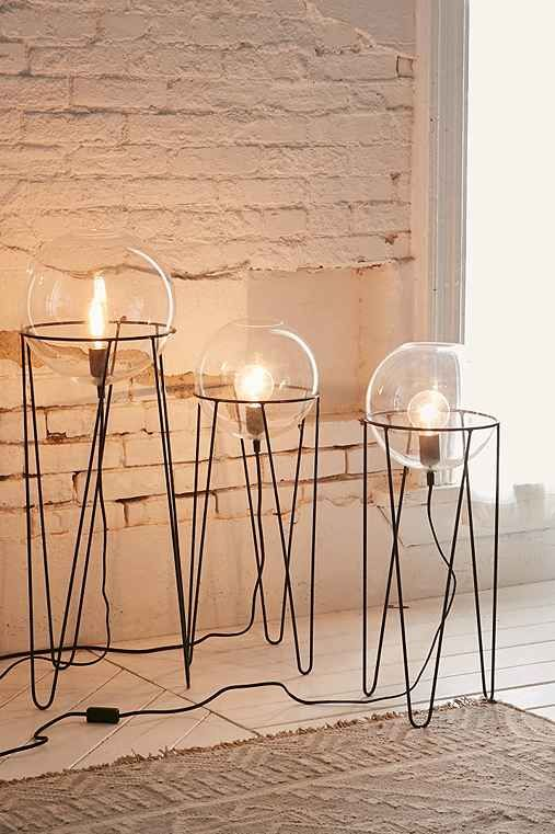 Could DIY this with a lamp kit and bulb and some vases maybe?