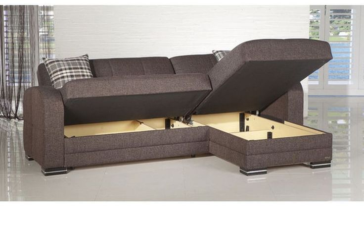 Kubo Right Hand Facing Sectional Sofa Couch Storage