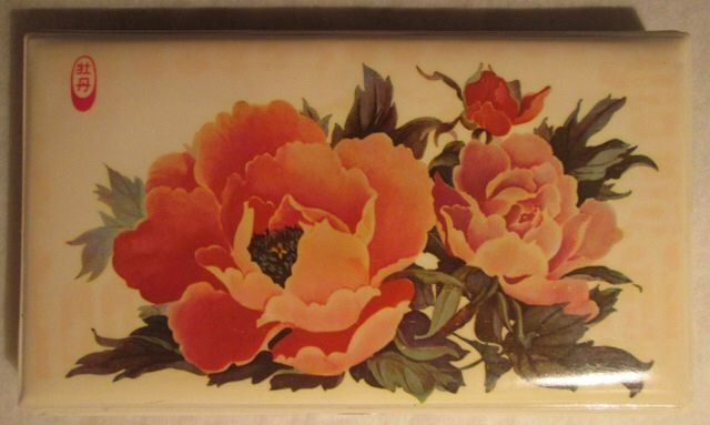 Flowers - pencil case (China 1980s)