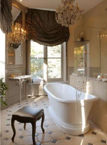 .: Bathroom Design, Masterbath, Bathtubs, Dreams Bathroom, Beautiful Bathroom, Bathroom Ideas, Master Bath, Window Treatments, Design Bathroom