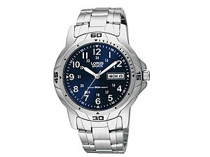 F.HINDS - RXN51BX7 Stainless Steel Blue Dial Sports Watch