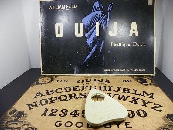 Vintage William Fuld Talking Board Mystifying Oracle Ouija