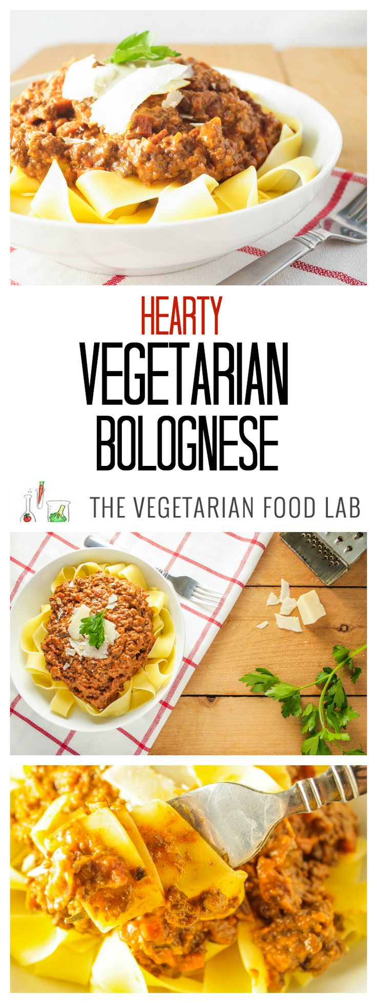 21 best the vegetarian food lab images on pinterest food lab hearty vegetarian bolognese vegetarian bolognesehealthy vegetarian mealsbolognese saucefood labyummy forumfinder Gallery
