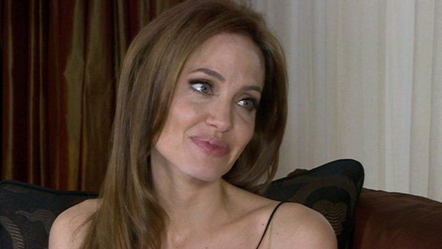 BBC News - Angelina Jolie on new film, charity work and cancer