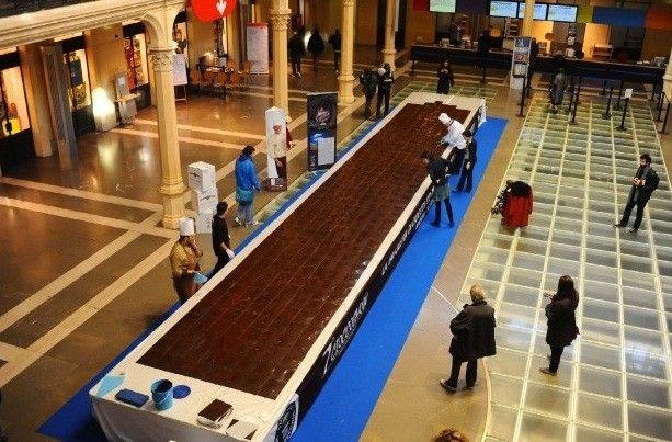 guinness dei primati La tavoletta di cioccolato più lunga - Cerca con Google