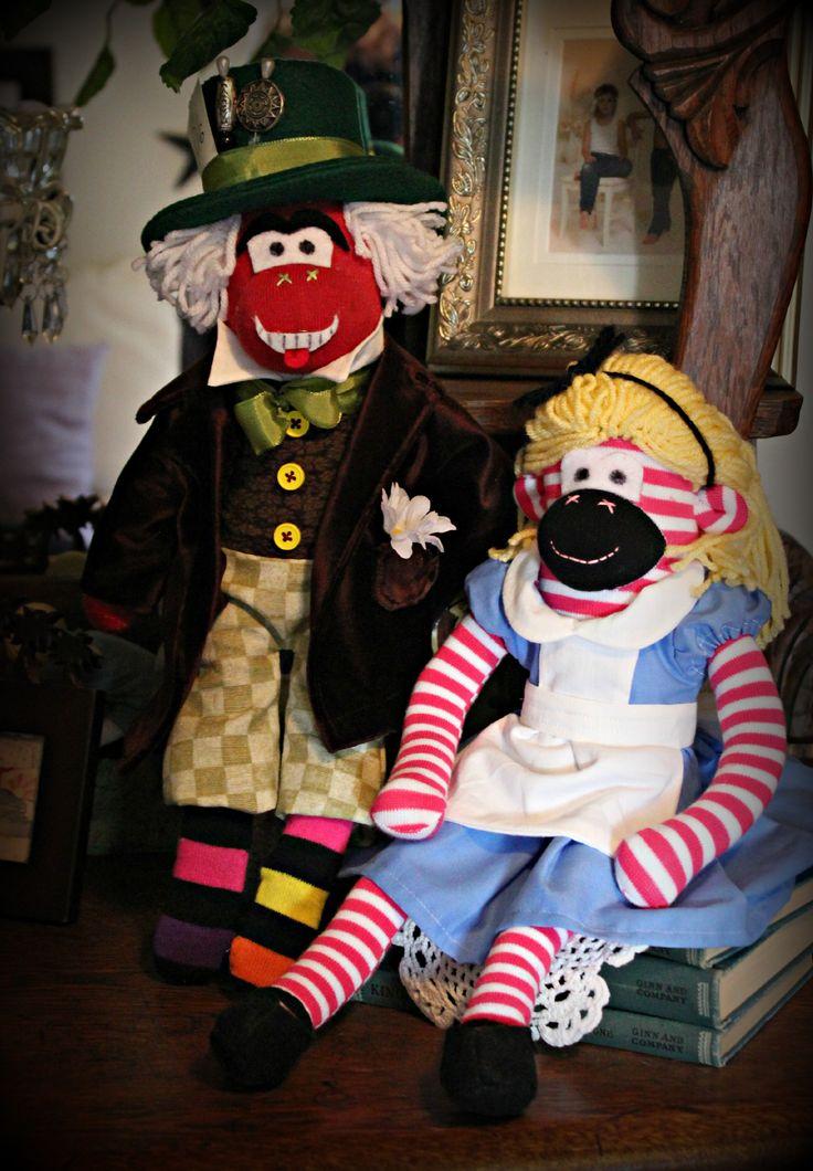 Alice in Wonderland | Mad Hatter Emoji Postcard | Zazzle ...  |Monkeys Mad Hatter