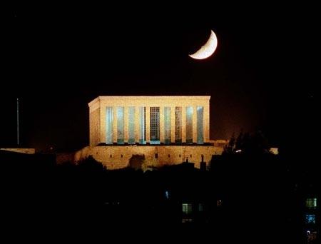Ankara, Ataturk's mausoleum