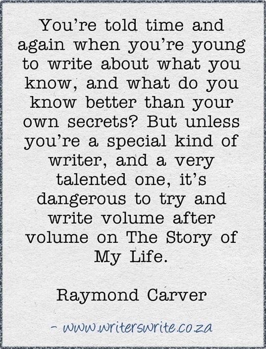 best raymond carver images raymond carver  quotable raymond carver writers write creative blog