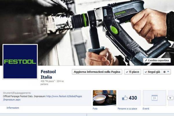 Festool Italia approda su Facebook!