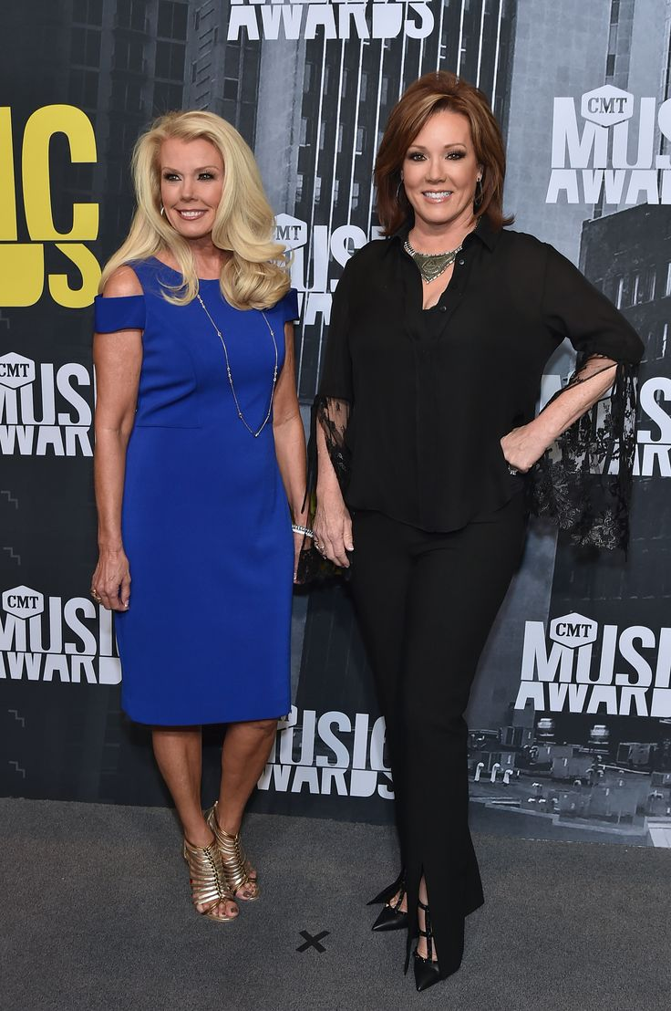 Judy Trammell and Kelli Finglass attend the 2017 CMT Music Awards at the Music City Center on June 7, 2017 in Nashville, Tennessee. (Photo by Mike Coppola/WireImage)