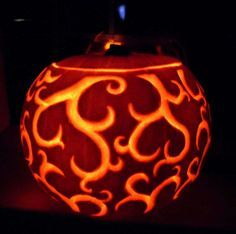 30+ Best Cool, Creative & Scary Halloween Pumpkin Carving Designs &…