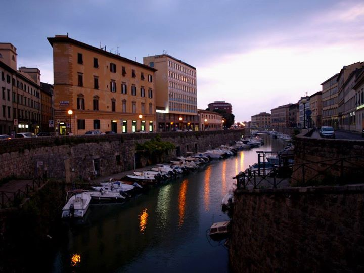 ITALY - Livorno in the evening