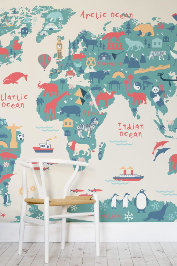 Die schönsten Motiv-Tapeten fürs Kinderzimmer.