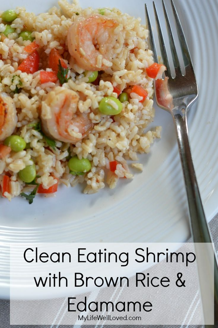 Clean Eating Shrimp Recipe that's perfectly light for summer! AD MinuteMealsSweeps