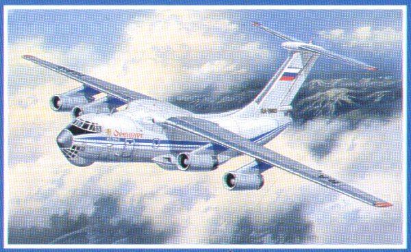 Ilyushin Il-76. A Model, 1/72, injection, No.AMU72012. Price: 179,28 GBP.
