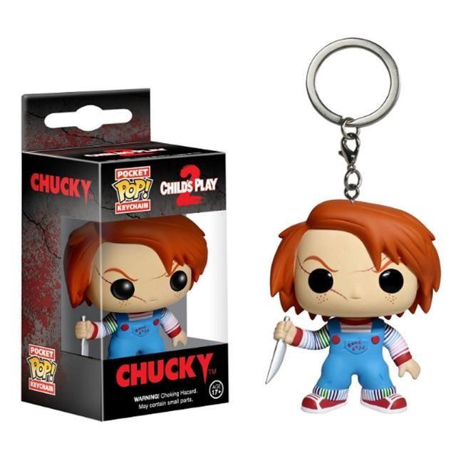 Funko Tasche Pop Chucky Child/'s Play 2 Neu Schlüsselanhänger