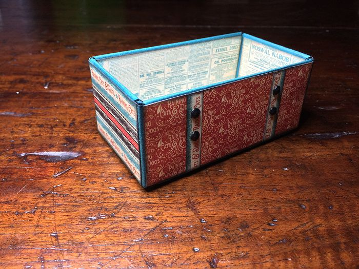 Raining Cats & Dogs Tea Box from Chipboard   Creator's Image Studio