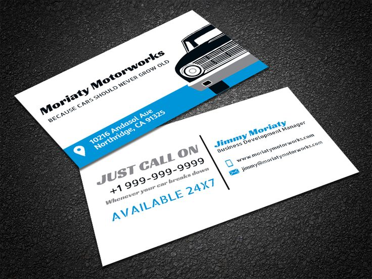 35 best free professional business card edit online and download free free car repair business card reheart Gallery