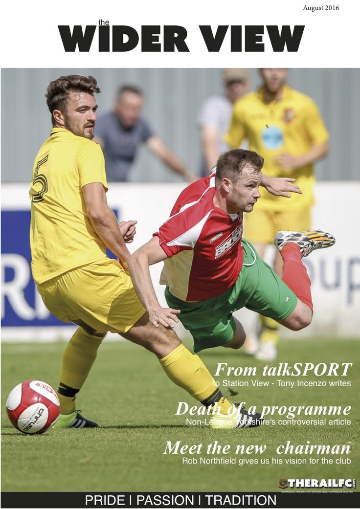 Our August edition of The Wider View is now available to read online...    https://issuu.com/therailfc/docs/the_wider_view_-_august/1    @therailfc #NCEL