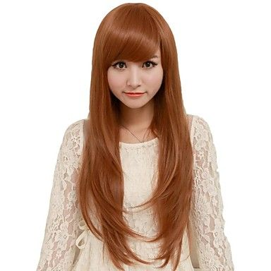 Fashion  Synthetic Wigs Golden Hair Wig - USD $ 19.99