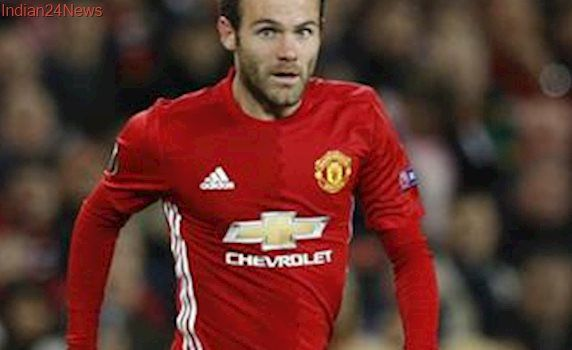 Juan Mata joins Chris Smalling and Phil Jones on Manchester United injured list