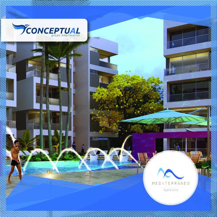 Mediterráneo Aparta Suites es un exclusivo proyecto que cuenta con 47 Aparta suites, además te ofrece diferentes zonas comunes para que disfrutes al máximo de todas sus comodidades. Visítanos en la vía a Sopetrán.   Llámanos 411-44-39 y Whatsapp: 313 680 75 98.