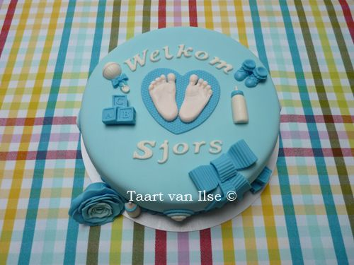 Birth cake for Sjors