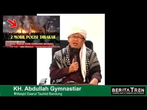Keajaiban Keajaiban yang Terjadi Pada Saat Aksi Demo 4 Nov, Aa Gym