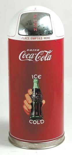 Coca Cola - kitchen trash can