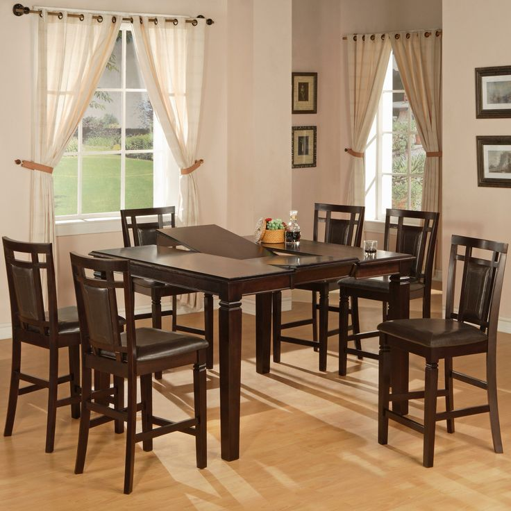 1286 Seven Piece Dining Pub Set By World Imports Available At  RoyalFurniture.com