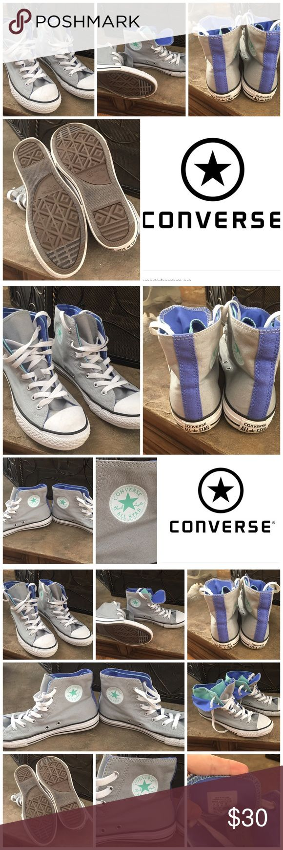 Converse Chuck Taylor Sneakers Converse Chuck Taylor Sneakers, size 4. Great pre owned condition. See pictures. Converse Shoes Sneakers