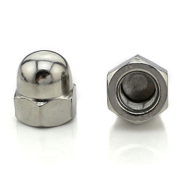 Acorn Nuts Also Known As Cap Nuts Feature A Domed Fastener Head Which Protects Screws And Bolts From Stripping Allowing For Screws And Bolts Steel Stainless