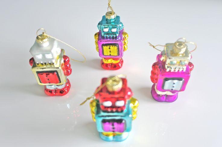 Robot Kerstballen