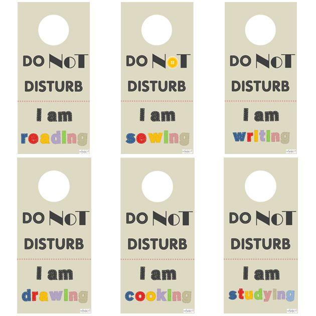 Carteles De No Molestar Para Imprimir Imprimir Sobres