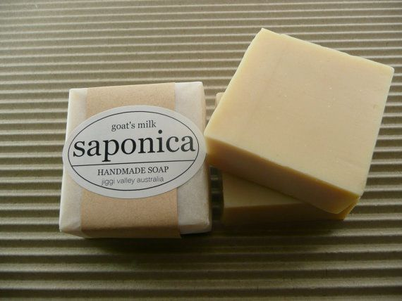Handmade Natural Goat's Milk Soap by Saponica by saponica on Etsy, $5.00
