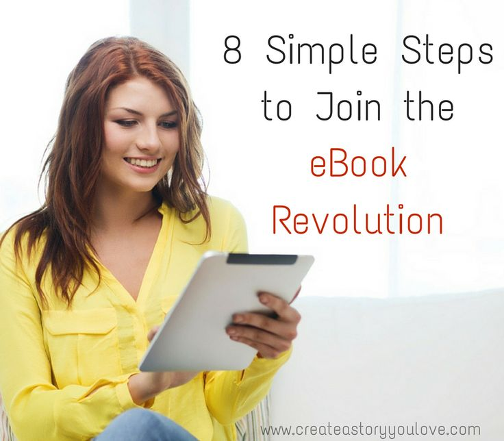 8 Simple Steps to Join the eBook Revolution by Lorna Faith