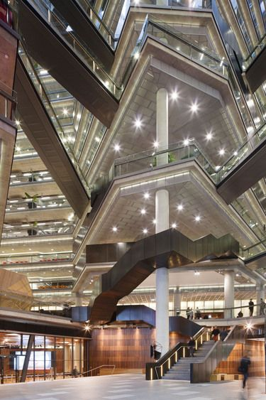 National Australia Bank (NAB) Docklands, VIC by Woods Bagot Architects