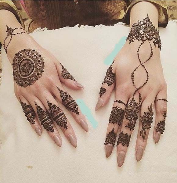 New Bridal Mehndi Desgin Ideas