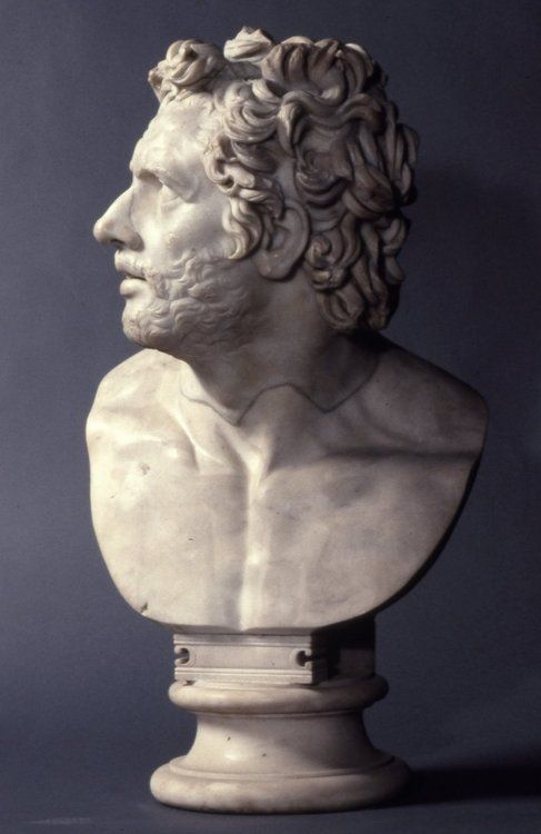 Bust of a companion of Ulysses AD 100-150 Roman (Hellenistic) (Source: The British Museum)