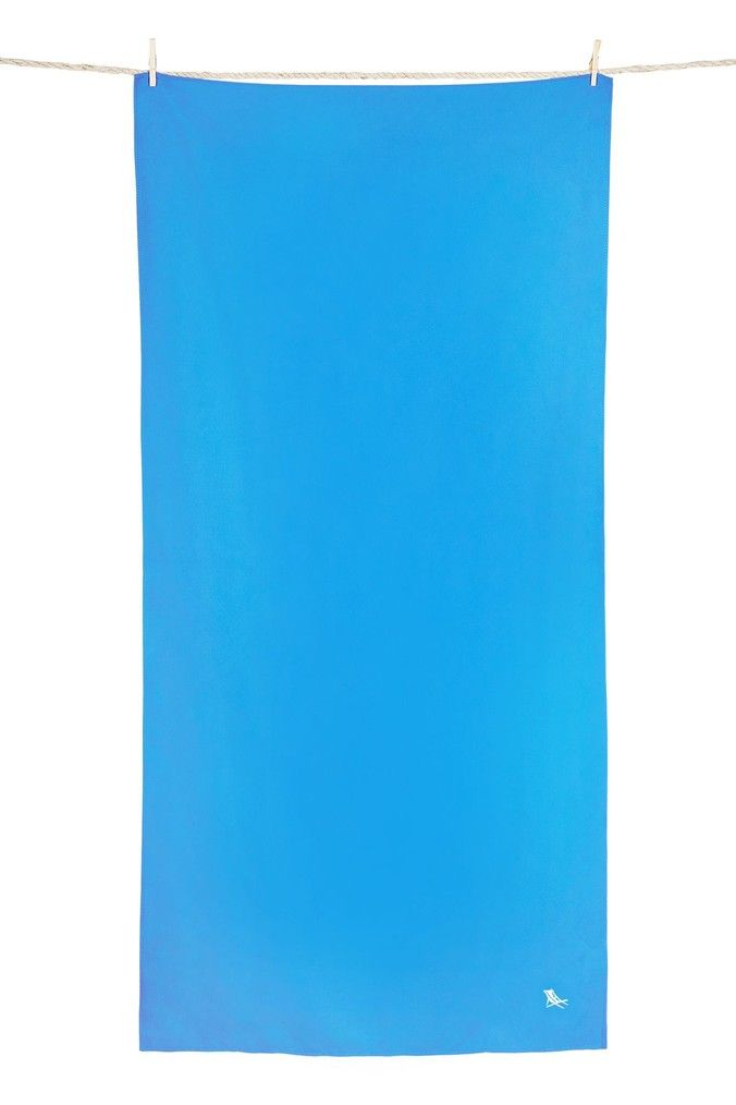 Dock Bay Beach Towel Blue Compact Towel Blue Beach Towels