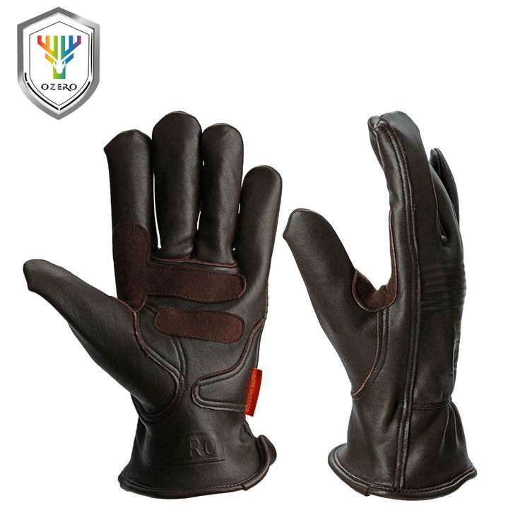 Ozero leder sport motorrad moto handschuhe wasserdicht anti kalten snowboard wandern jagd fahrrad sport handschuhe für männer 0009