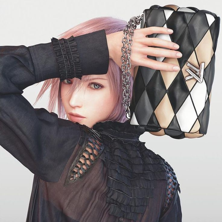 Louis Vuitton Campaign 2016ss: Final Fantasy XIII Lightning
