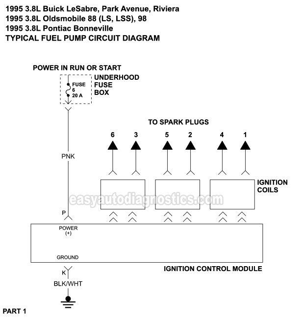 1996 Oldsmobile 88 Wiring Diagram