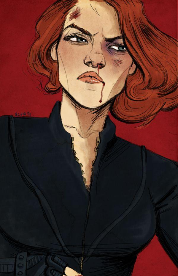 Black Widow by Amanda Scurti