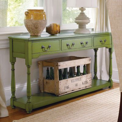 Coastal Cottage Style Furniture - Sofa & Console Tables - Durango Console - Cottage Haven Interiors