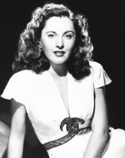 "deforest: ""Barbara Stanwyck, 1940s """