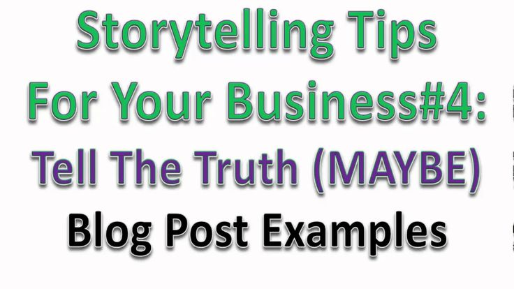 5 Storytelling Tips For Business (Training Video)