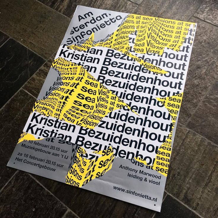 Starting the new year with a new AS poster! Post by @daan_rietbergen  #visualidentity #amsterdamsinfonietta #amsterdam #sinfonietta #graphicdesign #typography #typographicposter #posterdesign #visions #poster #kristianbezuidenhout