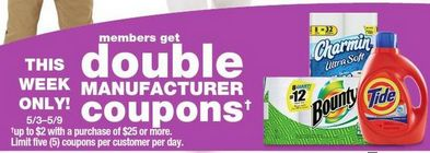 There will be a Kmart Double Coupon Event May 3 - 5: check this list of more than 400 coupons to double to print/clip and prepare!! : #Kmart, #NationalStores, #Stores Check it out here!!