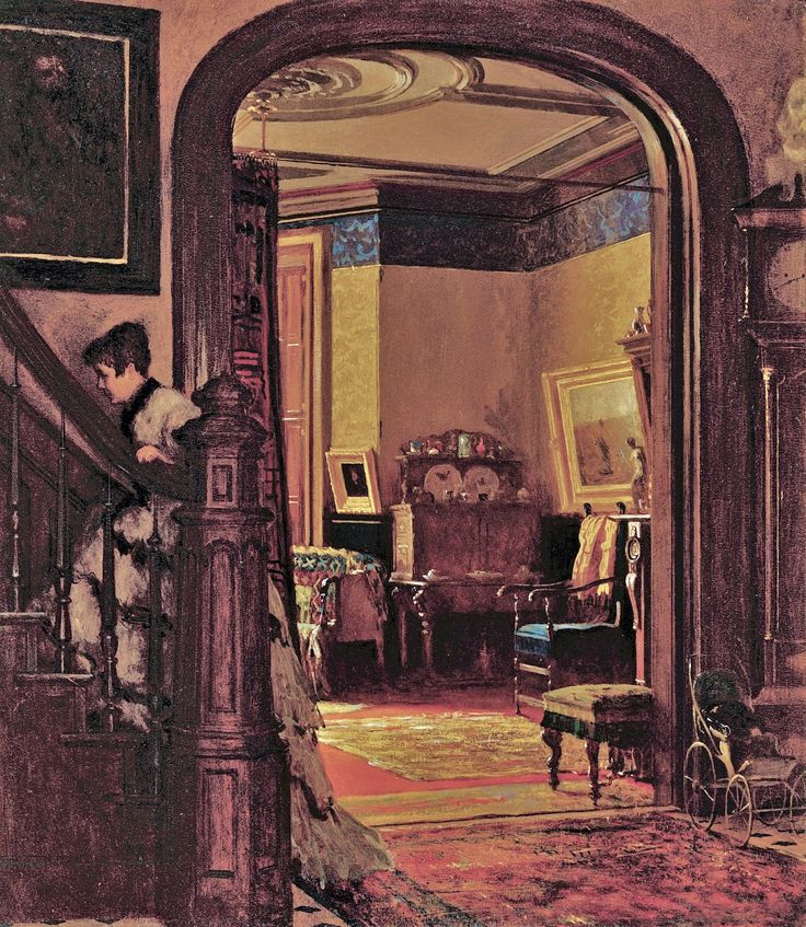 Middle Class Homes Interior 1906